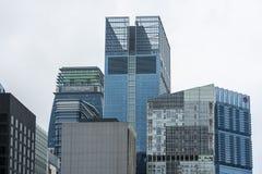 Horizonte de los edificios altos foto de archivo libre de regalías