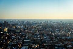 Horizonte de Madrid desde arriba Foto de archivo