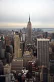 Horizonte de Manhattan Foto de archivo libre de regalías