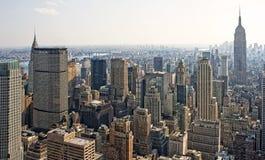 Horizonte de Manhattan imágenes de archivo libres de regalías