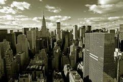Horizonte de Manhattan Fotos de archivo