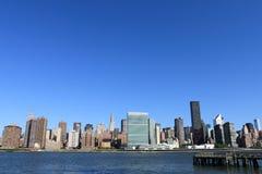 Horizonte de Manhattan, New York City Fotografía de archivo