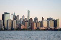 Horizonte de Manhattan, NYC imagen de archivo