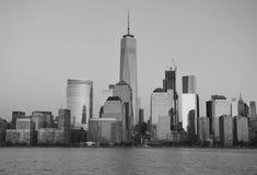 Horizonte de Manhattan, NYC fotografía de archivo libre de regalías