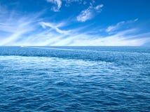 Horizonte de mar. Foto de Stock