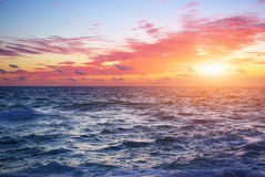 Horizonte de mar Fotos de Stock