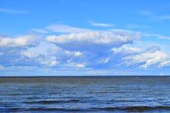 Horizonte de mar Foto de archivo