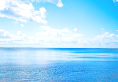 Horizonte de mar Imagens de Stock Royalty Free