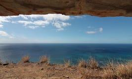 Horizonte de mar do depósito Imagem de Stock Royalty Free