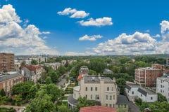Horizonte de Maryland em Sunny Day azul Fotos de Stock