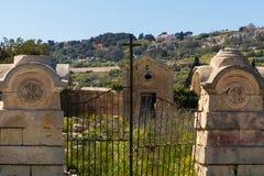 Horizonte de Mdina L-Imdina Imágenes de archivo libres de regalías
