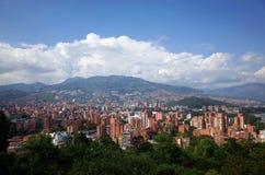 Horizonte de Medellin Imagen de archivo