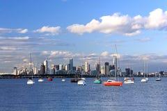 Horizonte de Melbourne Fotos de archivo