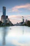 Horizonte de Melbourne Fotografía de archivo libre de regalías
