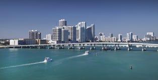 Horizonte de Miami Imagen de archivo