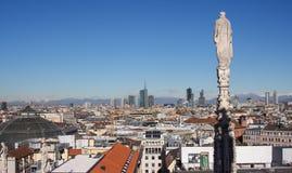 Horizonte 2016 de Milán Imagen de archivo