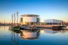 Horizonte de Milwaukee imagen de archivo libre de regalías