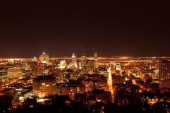 Horizonte de Montreal Fotos de archivo libres de regalías