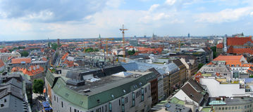 Horizonte de Munich Imagenes de archivo