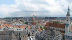 Horizonte de Munich Imagen de archivo libre de regalías