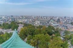 Horizonte de Nagoya durante día fotos de archivo libres de regalías