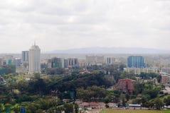 Horizonte de Nairobi Kenia Imagenes de archivo
