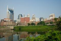 Horizonte de Nashville Foto de archivo libre de regalías