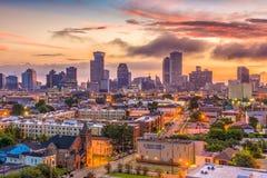Horizonte de New Orleans Louisana Imagenes de archivo