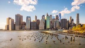Horizonte de New York City metrajes