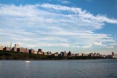 Horizonte de New York City Imagen de archivo libre de regalías