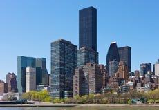 Horizonte de New York City Fotos de archivo