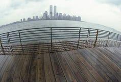 Horizonte de New York City Fotos de archivo libres de regalías