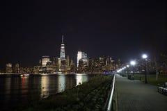 Horizonte de New York City Fotografía de archivo libre de regalías