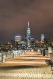 Horizonte de New York City de New Jersey Imagenes de archivo