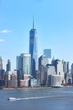 Horizonte de New York City Manhattan Imagen de archivo