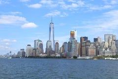 Horizonte de NewYork Fotos de archivo libres de regalías