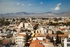 Horizonte de Nicosia (Lefkosia) Imágenes de archivo libres de regalías