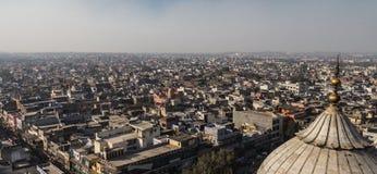 Horizonte de Nueva Deli, la India fotografía de archivo libre de regalías