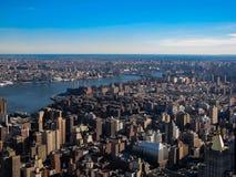 Horizonte de Nueva York imagen de archivo