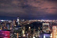 Horizonte de Nueva York Foto de archivo