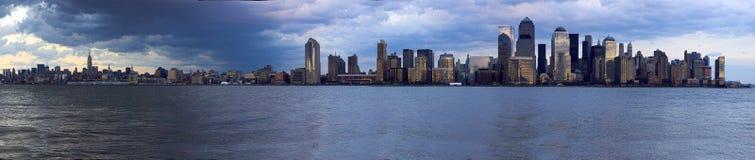 Horizonte de Nueva York Fotografía de archivo