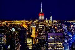Horizonte de Nueva York Foto de archivo libre de regalías