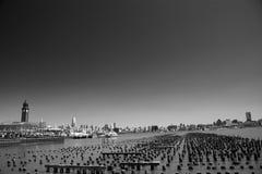 Horizonte de Nueva York, Manhattan Imagen de archivo libre de regalías