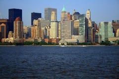 Horizonte de NYC Foto de archivo libre de regalías