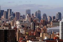 Horizonte de NYC Imagen de archivo libre de regalías