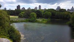 Horizonte de NYC Fotografía de archivo