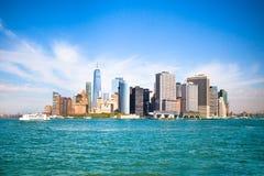 Horizonte de NYC céntrico Fotografía de archivo libre de regalías