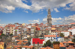 Horizonte de Oporto, Portugal Imagen de archivo