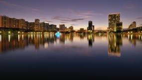 Horizonte de Orlando Foto de archivo libre de regalías