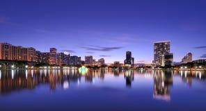 Horizonte de Orlando Imagenes de archivo